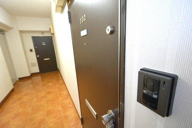 自由ヶ丘第5マンション702 玄関