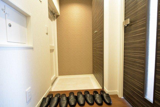 経堂セントラルマンション3F 玄関