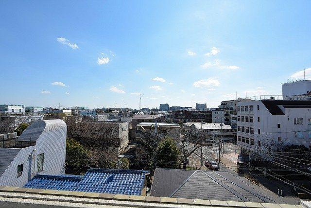 経堂セントラルマンション3F 2ndバルコニー