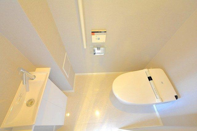 ライオンズ麻布十番スペリア トイレ