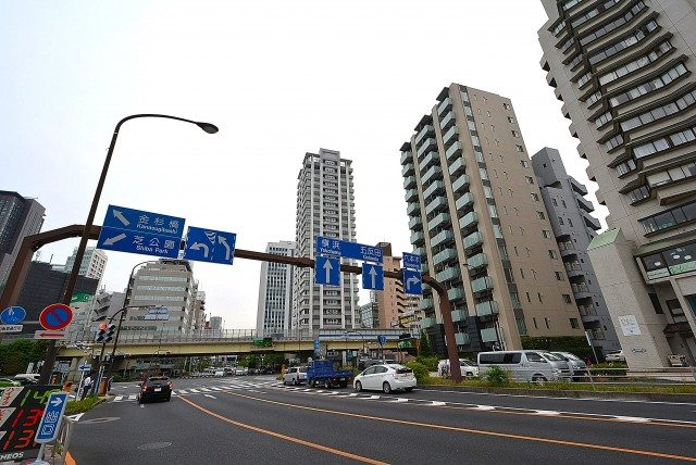 東京タワー周辺