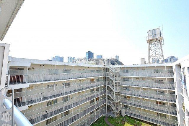 パイロットハウス北新宿 バルコニー