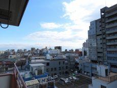 エクセル旗の台 南西側バルコニー眺望
