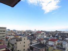 エクセル旗の台 南東側バルコニー眺望