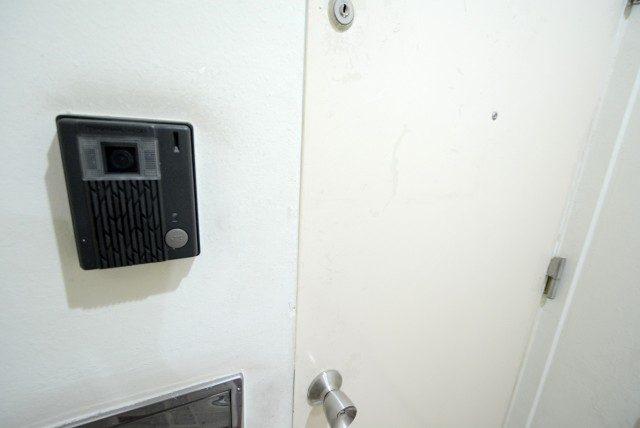 ライオンズマンショングリーン白金 玄関