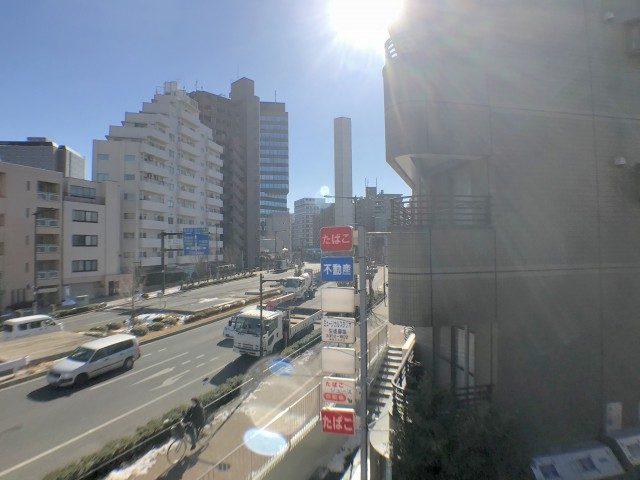 ライオンズマンション中野弥生町 バルコニー南