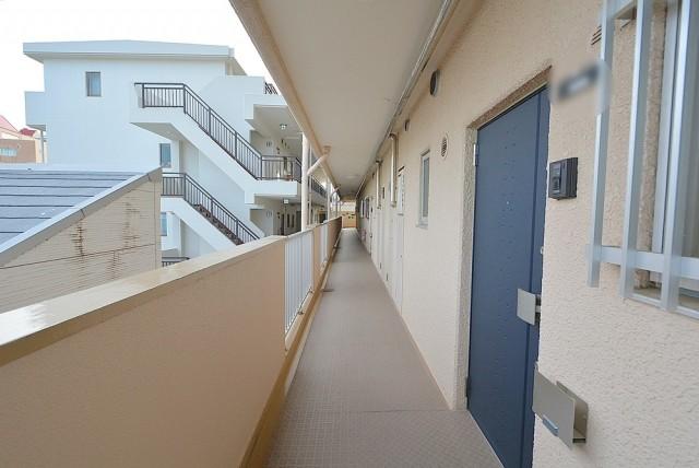 祖師ヶ谷大蔵サマリヤマンション 外廊下