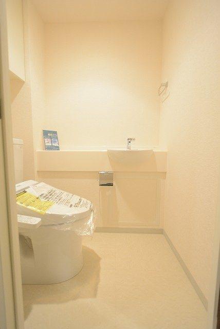 ニュートンプレイス トイレ