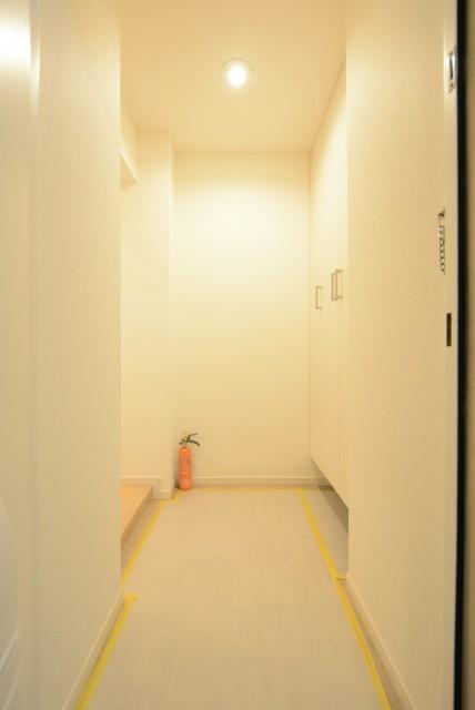 芦花公園ヒミコマンション 玄関