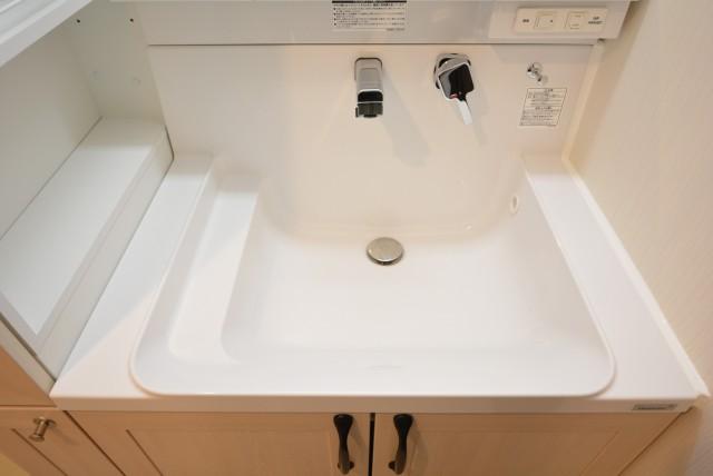 カルム桜新町パティオ 洗面室