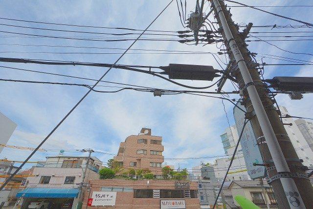 二子玉川宝ロイヤルハイツ バルコニー