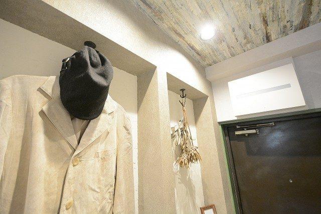 柿の木坂スカイマンション 玄関