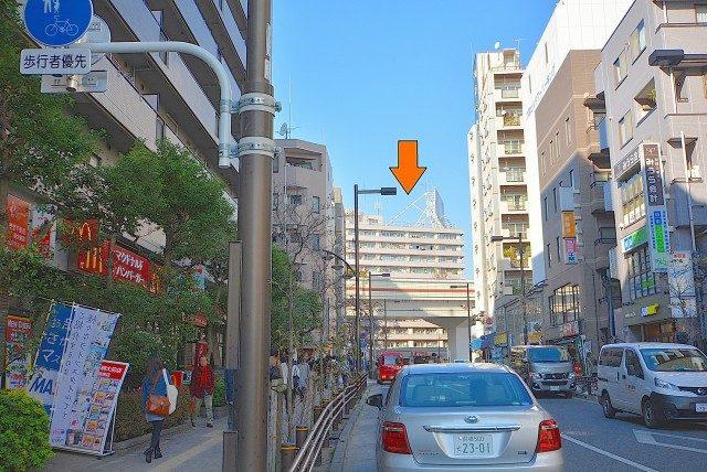 明大前駅前