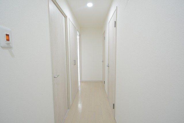 柿の木坂パレス 廊下