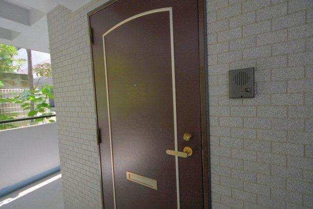 ボヌール目白台 玄関