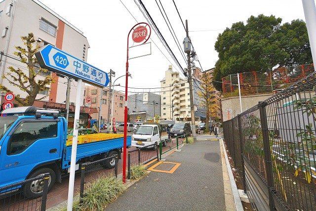 中野富士見町 寿橋交差点