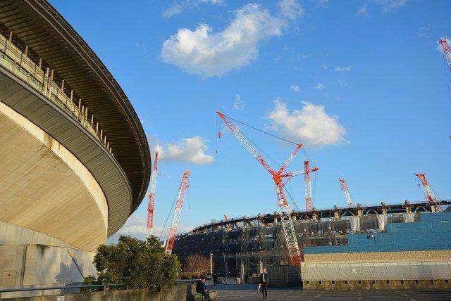 新宿ー代々木 新国立競技場