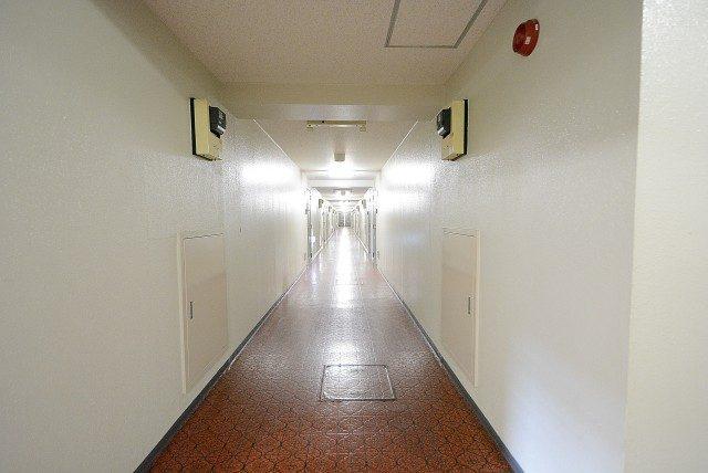 上高井戸第二ハイホーム 内廊下