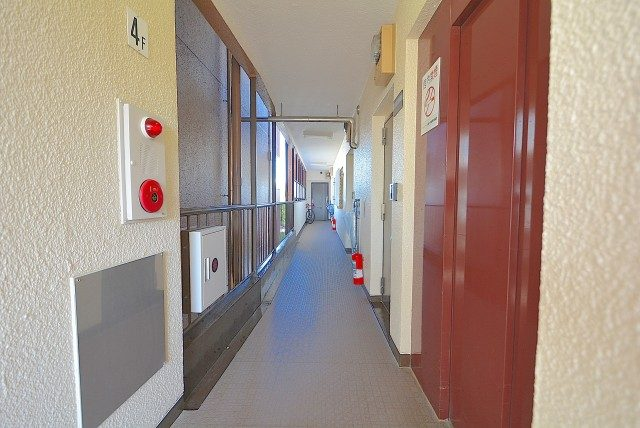 シャンボール柿の木坂 廊下