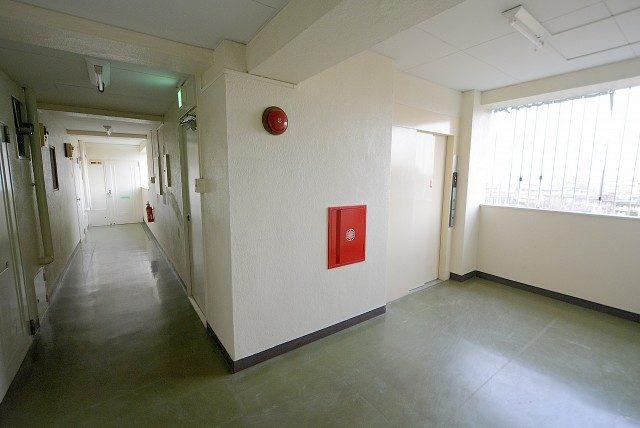 ニックハイム砧 外廊下