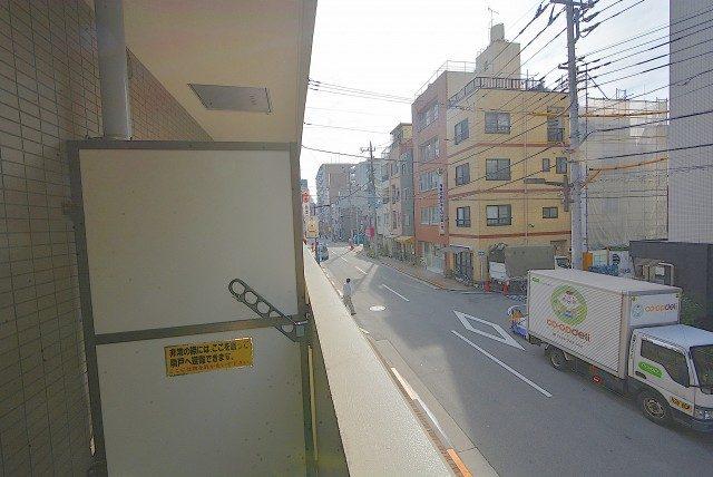 グランベル上野の杜 バルコニー