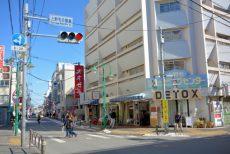 上野毛駅周辺 (7)駅前