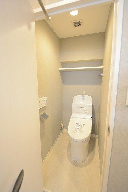パラシオン恵比寿 トイレ