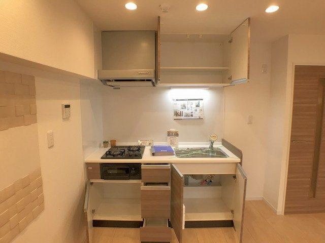麻布霞町マンション キッチン