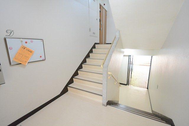 上北沢テラス 階段