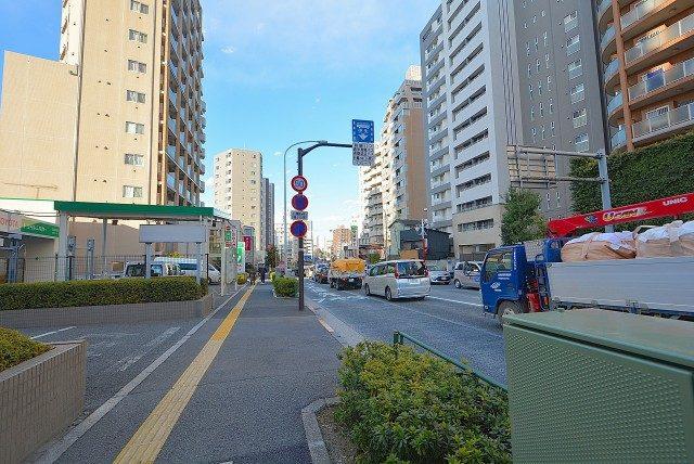 メゾンドール高田馬場 明治通り