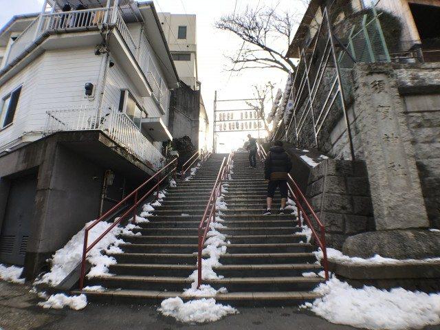 君の名は 階段