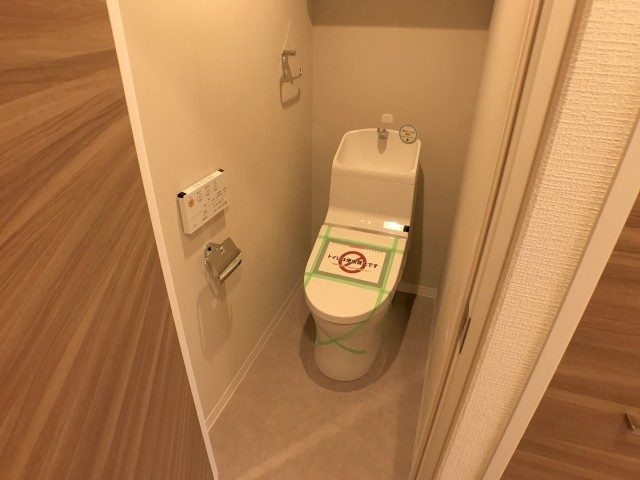 麻布霞町マンション トイレ