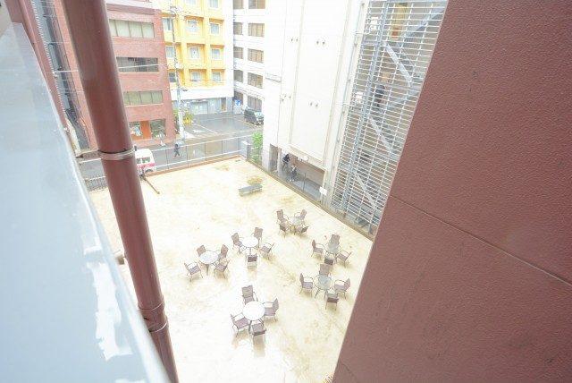 グランドメゾン新宿東 外廊下