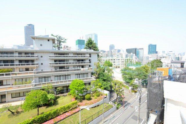 サンビューハイツ渋谷 バルコニー