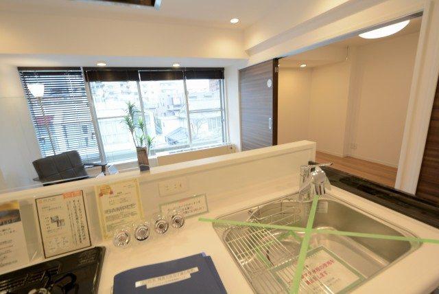 川口アパートメント キッチン