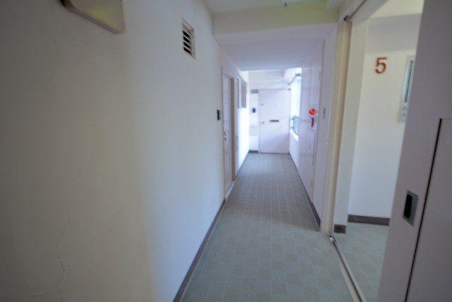コープ高輪 外廊下