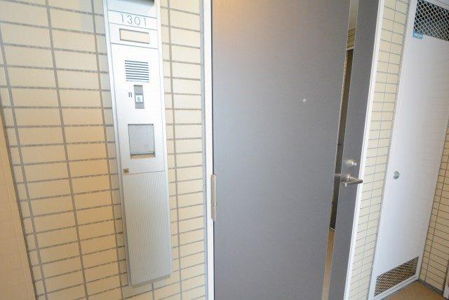 パークアクシス白金台南 玄関