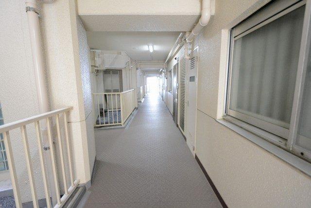 サンビューハイツ渋谷 外廊下