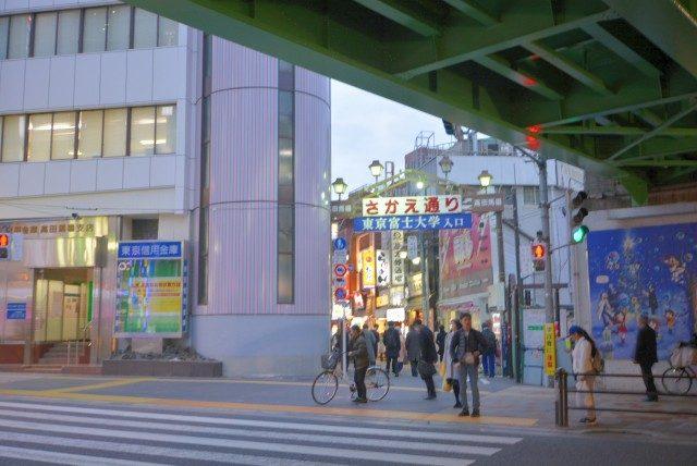 高田馬場駅周辺