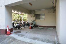 ピロティ五反田 駐輪場
