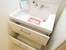 五反田サニーフラット 洗面化粧台
