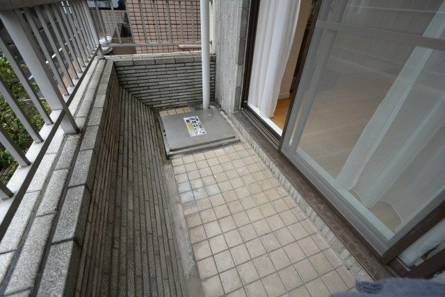 中銀マーブルマンシオン新宿五丁目 バルコニー