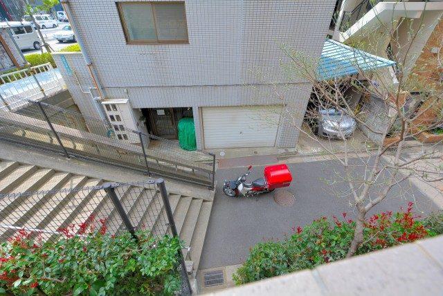 フォルスコート目黒大橋 バルコニー