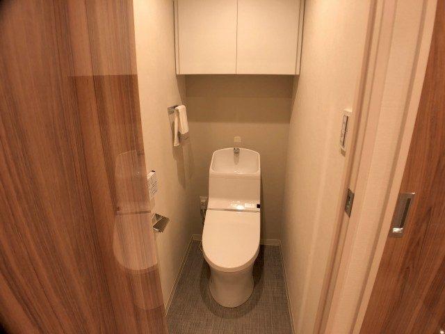 初台パークサイドハイツ トイレ