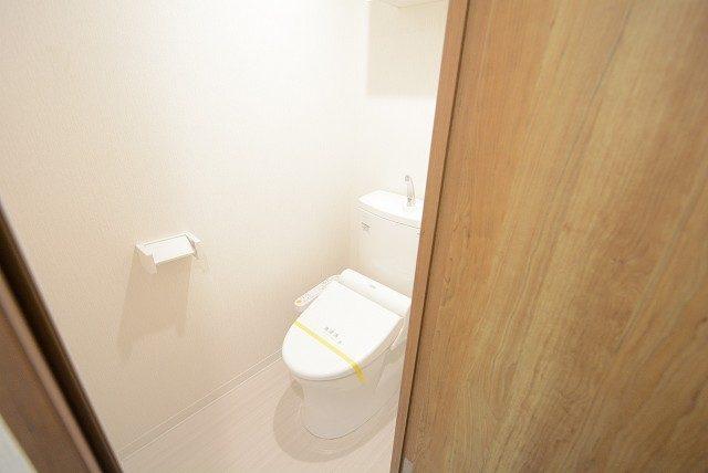 朝日白山マンション トイレ