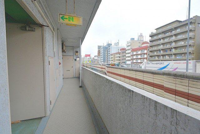 幡ヶ谷コーエイマンション 外廊下