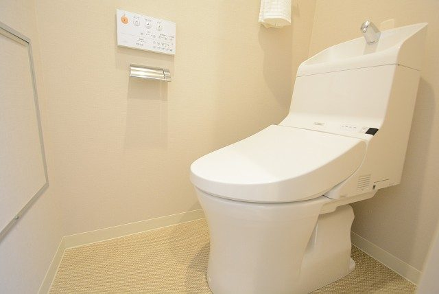 祐天寺第二コーポラス トイレ