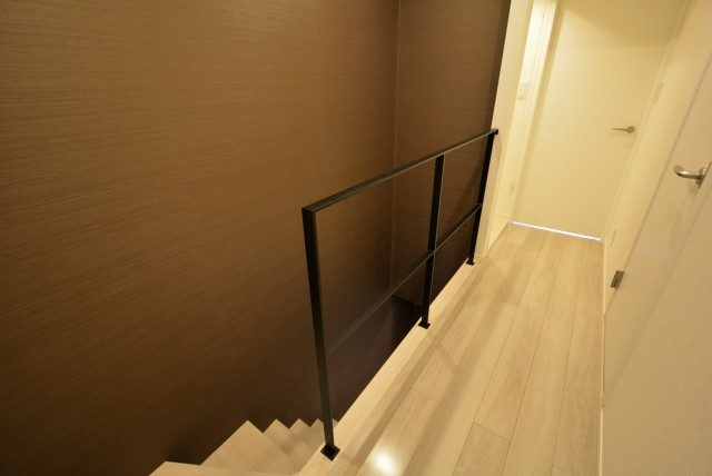 学芸大ハイツ 階段