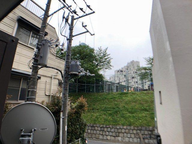 赤坂南部坂ハイツ バルコニー