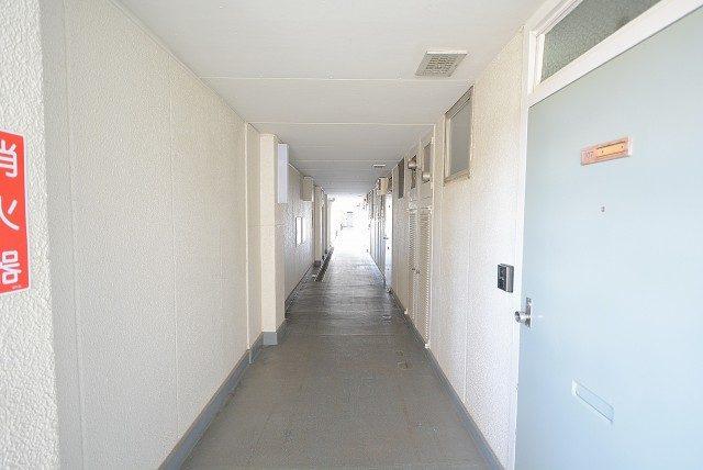 祐天寺第二コーポラス 外廊下